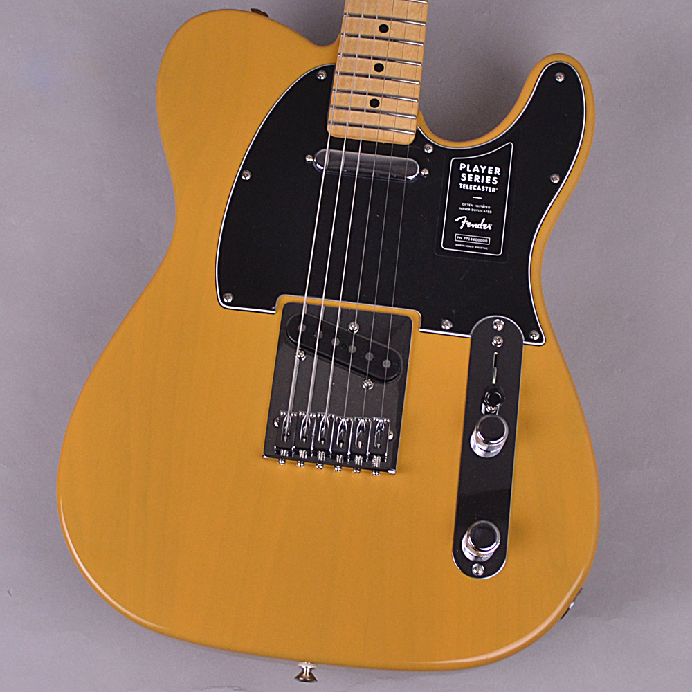 Fender Player Telecaster Butterscotch Blonde エレキギター 【フェンダー プレイヤーテレキャスター】【未展示品・専任担当者による調整済み】