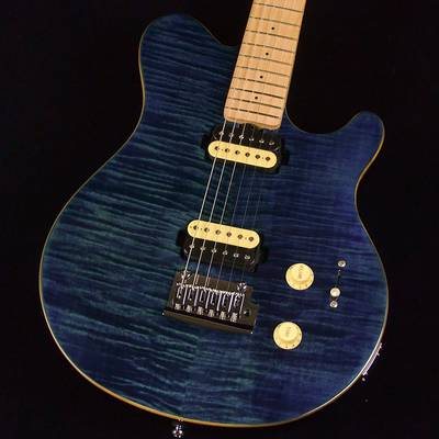 STERLING by Musicman AXIS FLAME MAPLE TOP Neptune Blue エレキギター 【スターリン SUB AX3FM-NBL-M1】【未展示品】 【ミ・ナーラ奈良店】