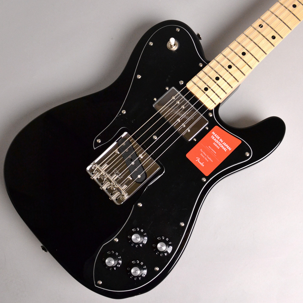 Fender MADE IN JAPAN TRADITIONAL 70S TELECASTER CUSTOM/Black #JD18006095 エレキギター 【フェンダー】【イオンモール幕張新都心店】
