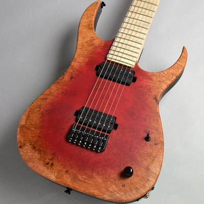 Strictly 7 Guitars Cobra Special 7 HT/B Poplar Burl / Red Burst Matte エレキギター(7弦) 【ストリクトリー7ギターズ】【新宿PePe店】【楽器フェア2018モデル】【決算セール】