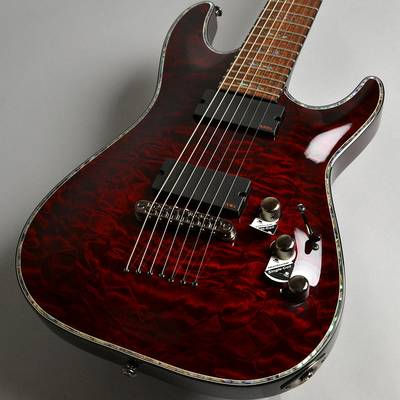 SCHECTER ADC7HR/Black Cherry エレキギター(7弦) 【シェクター HELLRAISER C-7】【新宿PePe店】