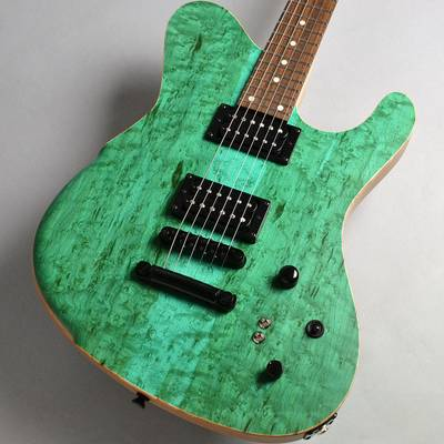 dragonfly BORDER CUSTOM 666 6st Birds Eye Maple/Alder/SUWALAKE BLUE エレキギター 【ドラゴンフライ】【新宿PePe店】【666mmスケール】