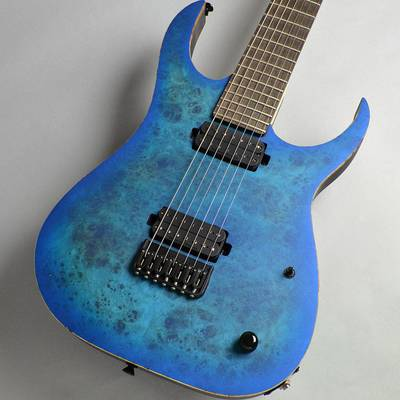 Strictly 7 Guitars Cobra Special 7 HT/B Maple Burl / Blue Burst Matte エレキギター(7弦) 【ストリクトリー7ギターズ】【イオンモール幕張新都心店】【楽器フェア2018モデル】