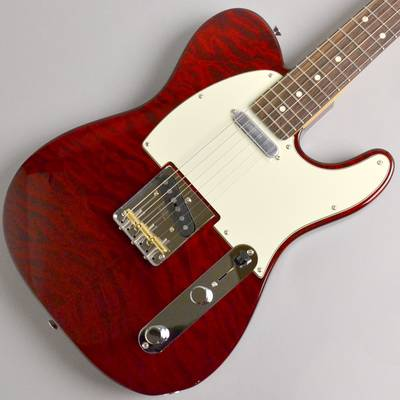 Fender Made in Japan Hybrid 60s Telecaster Quilt Top Transparent Red #JD18013054 エレキギター 【フェンダー】【イオンモール幕張新都心店】