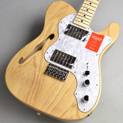 Fender Made in Japan Traditional 70s Telecaster Thinline/Natural エレキギター 【フェンダー シンライン】【新宿PePe店】