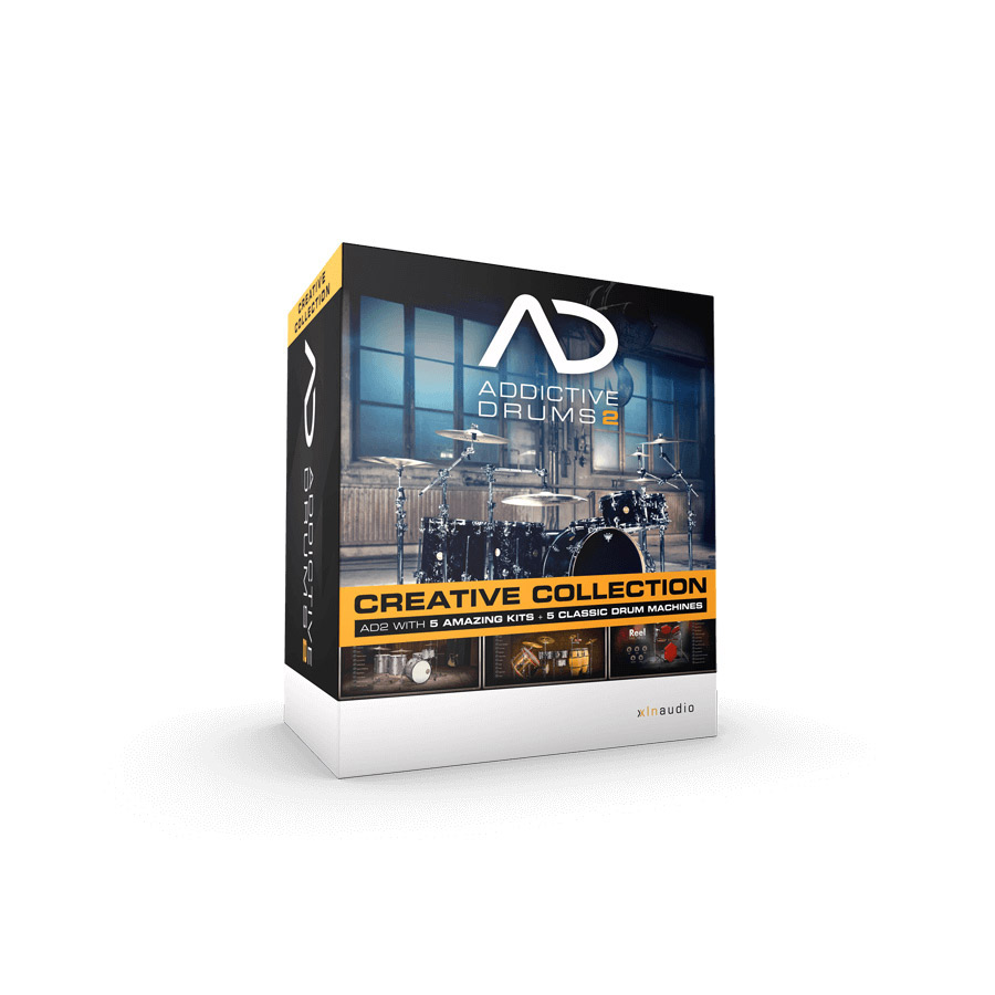 XLN Audio Addictive Drums2 Creative Collection ドラム音源 【ダウンロード版】 【XLNオーディオ】【新宿PePe店】