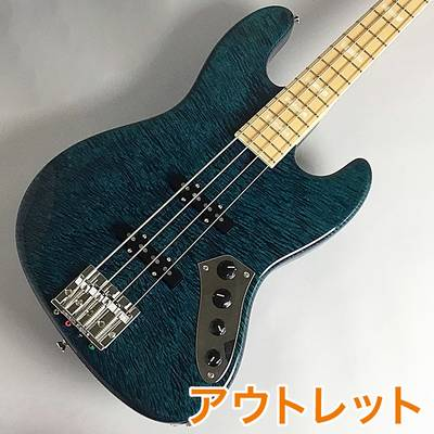 Crews Maniac Sound JB-2004 MP Maple Fingerboard/Trance Blue エレキベース 【クルーズ】【ビビット南船橋店】