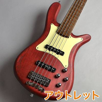 Warwick Streamer CV5 Burgundy Red Coloured Oil Finish エレキベース(5弦) 【ワーウィック Germany Pro Series】【新宿PePe店】【アウトレット】