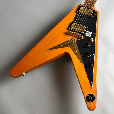 Epiphone Limited 1958 Korina Flying V/Antique Natural エレキギター 【エピフォン】【新宿PePe店】