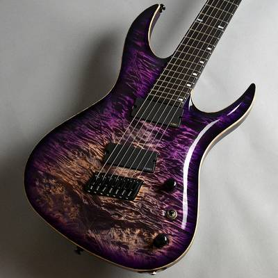 ACACIA Guitars Hades 7 Multi Quilted Maple Top / Purple burst エレキギター 【アカシアギターズ】【新宿PePe店】