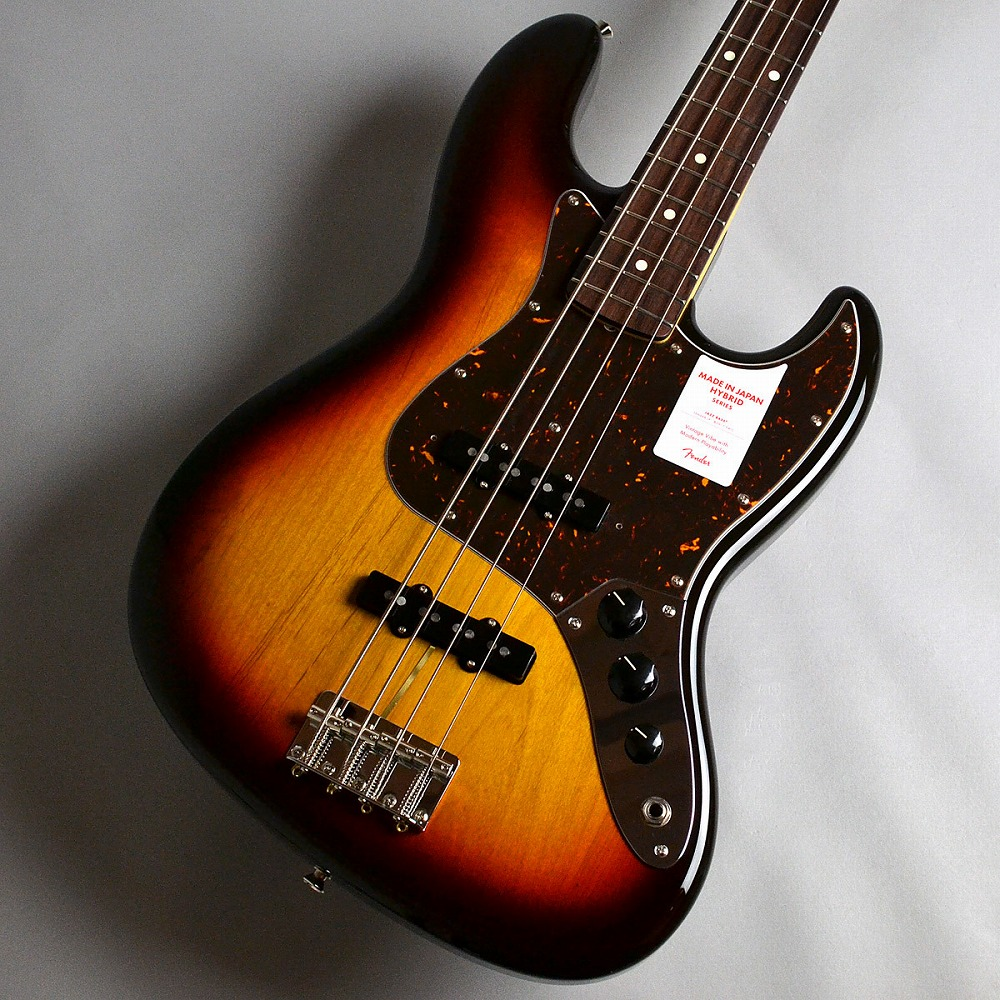 Fender Made in Japan Hybrid 60s Jazz Bass/3-Color Sunburst エレキベース 【フェンダー】【新宿PePe店】