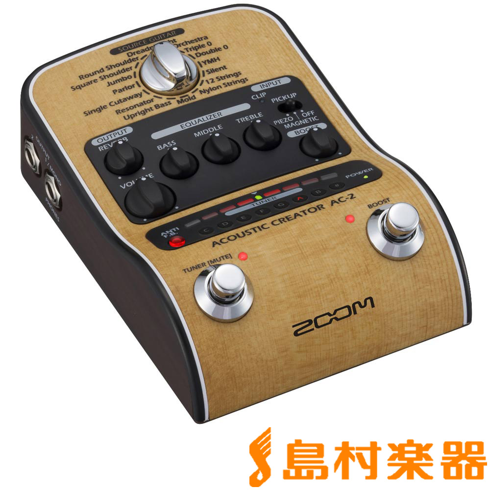 ZOOM AC-2 Acoustic Creator 【ズーム】
