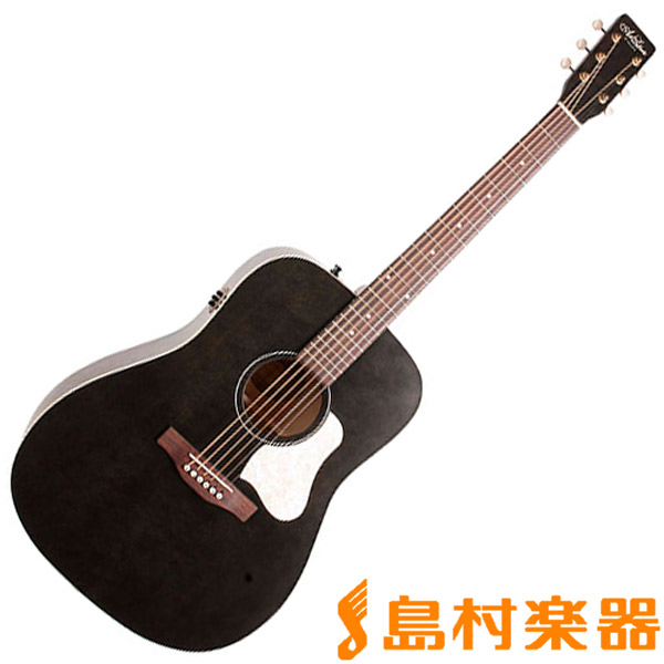 Art & Lutherie Americana Faded Black Q1T FBK エレアコギター 【アート&ルシアー】
