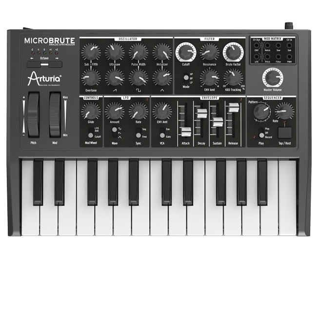 ARTURIA MicroBrute アナログシンセサイザー 【アートリア】